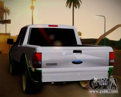 Ford Ranger 2005 for GTA San Andreas right view