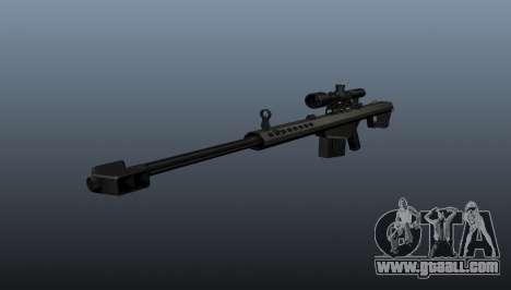 50 sniper rifle-caliber for GTA 4