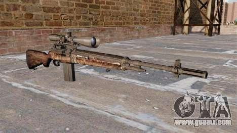 M21 sniper rifle for GTA 4