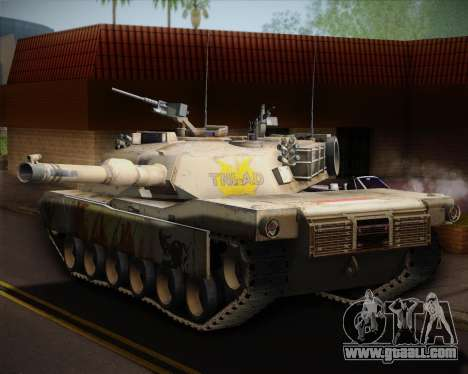 Abrams Tank Indonesia Edition for GTA San Andreas