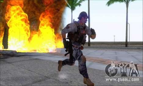 Engineer of Battlefield 4 for GTA San Andreas forth screenshot