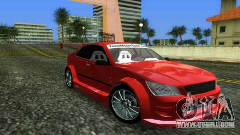 Lexus IS200 for GTA Vice City