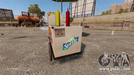 New textures of hot dog carts for GTA 4 sixth screenshot