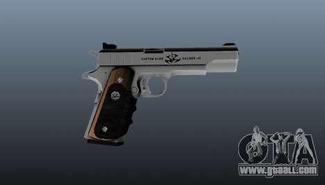 The AMT Hardballer semi-automatic pistol for GTA 4 third screenshot