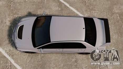 Mitsubitsi Lancer MR Evolution VIII 2004 Stock for GTA 4 back view