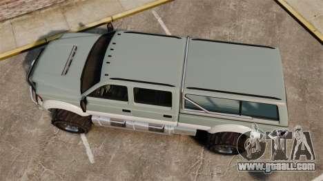 GTA V Vapid Sandking XL 4500 for GTA 4 right view