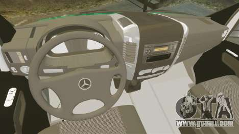Mercedes-Benz Sprinter Australian Ambulance ELS for GTA 4 back view