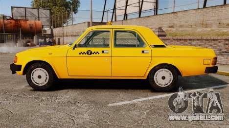 Gaz-31029 taxi for GTA 4 left view