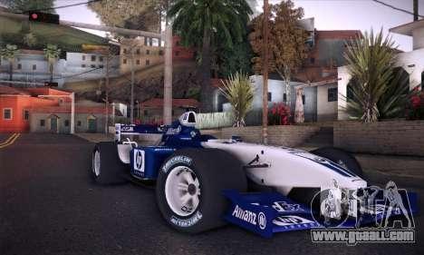 BMW Williams F1 for GTA San Andreas engine