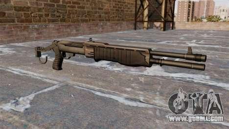 Franchi SPAS-12 shotgun Armageddon v2.0 for GTA 4