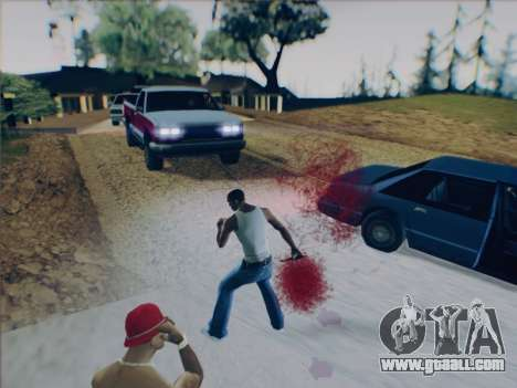 Battlefield 2142 Knife for GTA San Andreas fifth screenshot