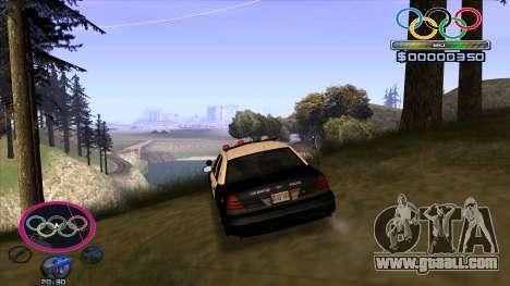HUD Olympiade for GTA San Andreas third screenshot