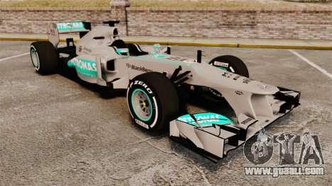 Mercedes AMG F1 W04 v5 for GTA 4