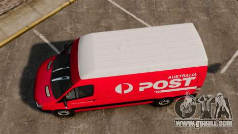 Mercedes-Benz Sprinter 2011 Australia Post for GTA 4 right view