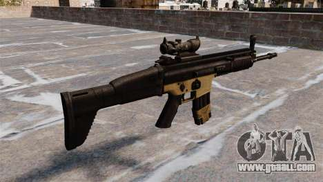 Automatic FN SCAR-L for GTA 4 second screenshot