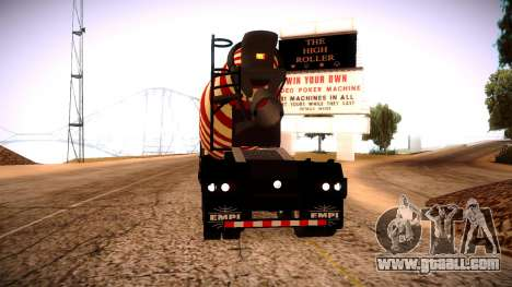 Cement Mixer for GTA San Andreas left view