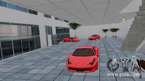Ferrari Auto Show for GTA 4 fifth screenshot