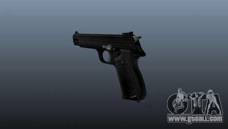 Semiautomatic pistol SIG P210 for GTA 4 second screenshot
