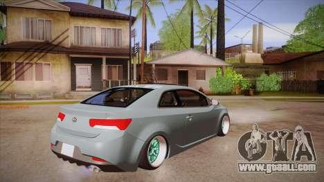 Kia Cerato for GTA San Andreas right view