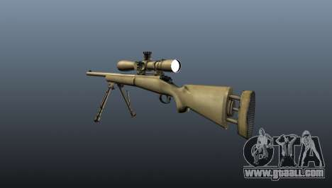 The M24 sniper rifle for GTA 4 second screenshot