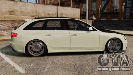 Audi RS4 Avant VVS-CV4 2013 for GTA 4 left view
