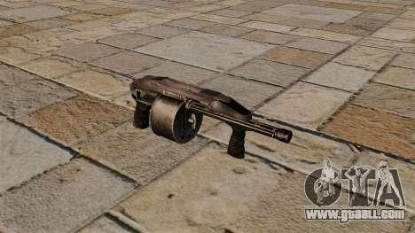 Smooth-bore gun Protecta for GTA 4