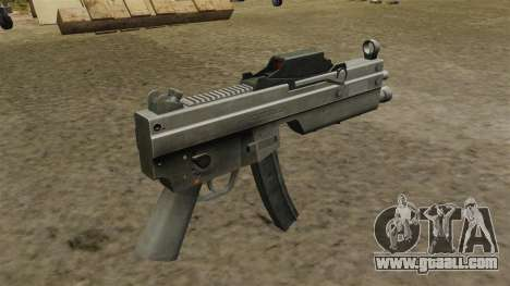 Updated MP5 submachine gun for GTA 4 second screenshot