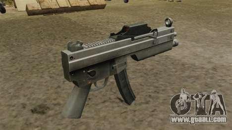 Updated MP5 submachine gun for GTA 4 second screenshot