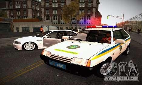 VAZ 2108 Ukraine REC for GTA San Andreas