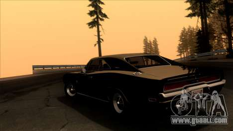 Dodge Charger 440 (XS29) 1970 for GTA San Andreas left view