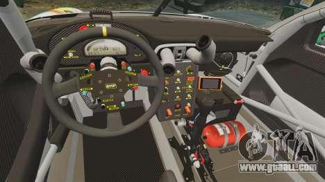 Porsche GT3 RSR 2008 Hatsune Miku for GTA 4 inner view