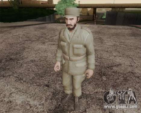Fidel Castro for GTA San Andreas