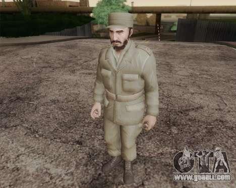 Fidel Castro for GTA San Andreas
