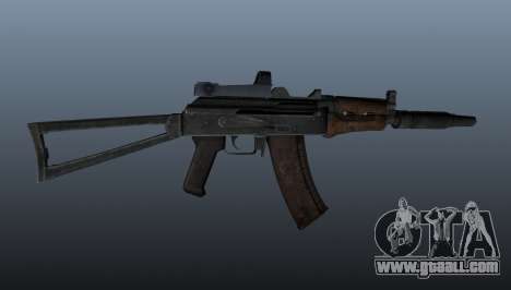 Automatic AKS74U for GTA 4 third screenshot
