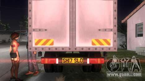 Mercedes Benz Atego for GTA Vice City back left view