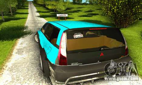 Mitsubishi Evo IX Wagon S-Tuning for GTA San Andreas side view