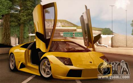 Lamborghini Murciélago 2005 for GTA San Andreas engine