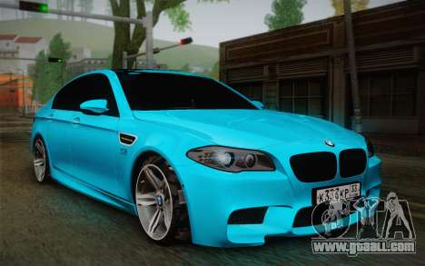 BMW M5 F10 v1 for GTA San Andreas