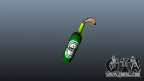 Molotov Cocktail-Heineken- for GTA 4