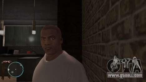 Franklin Clinton from GTA V for GTA 4
