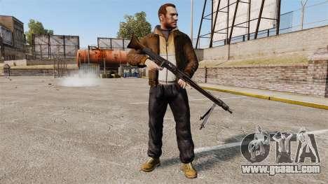 General-purpose machine gun MG42 for GTA 4 third screenshot