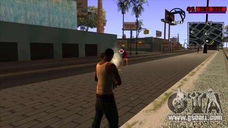 C-HUD Project Capture 6 for GTA San Andreas third screenshot