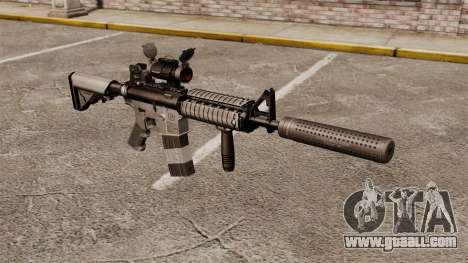 M4 carbine with silencer v2 for GTA 4