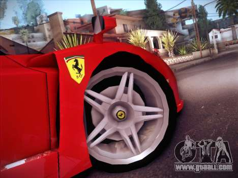 Ferrari Enzo 2003 for GTA San Andreas side view