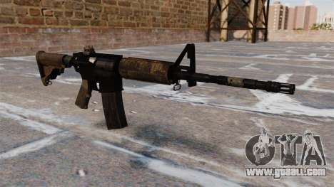 Automatic M4 carbine for GTA 4