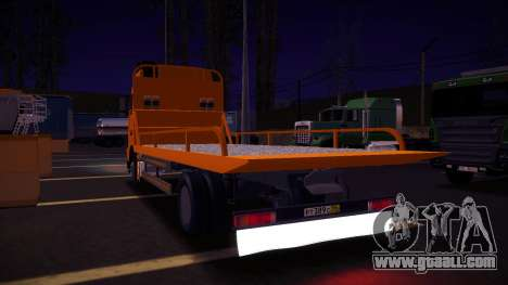 Volvo FH12 Tow Truck for GTA San Andreas back view