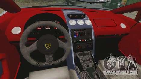 Lamborghini Gallardo 2013 for GTA 4 inner view