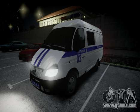 Gazelle 2705 Police for GTA 4