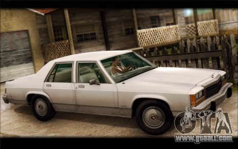 Ford LTD Crown Victoria 1987 for GTA San Andreas