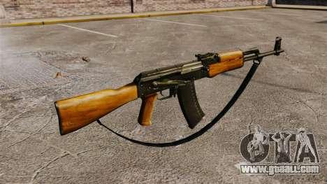 AK-47 v5 for GTA 4 second screenshot